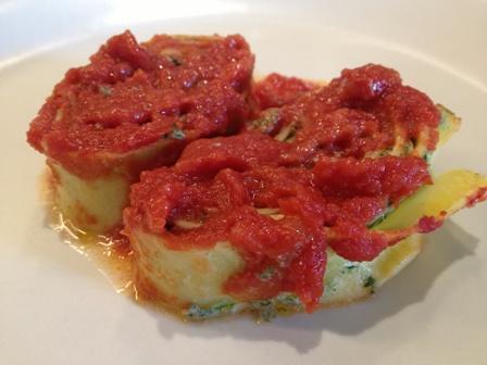 foto ricetta frittata di ricotta al pomodoro