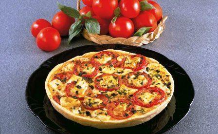 foto articolo crostata di pomodori e formaggio