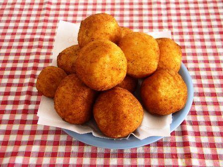 foto ricetta palline di riso saporite