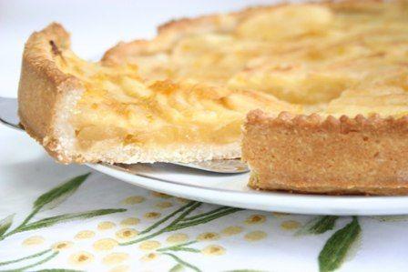 foto ricetta crostata di mele
