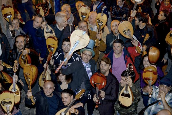 Flash mob IO STO COL MANDOLINO