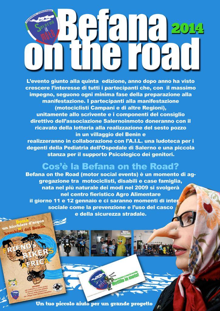 Locandina Befana on the road
