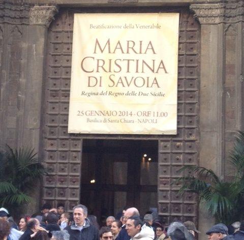 beatificazione Maria Cristina di Savoia