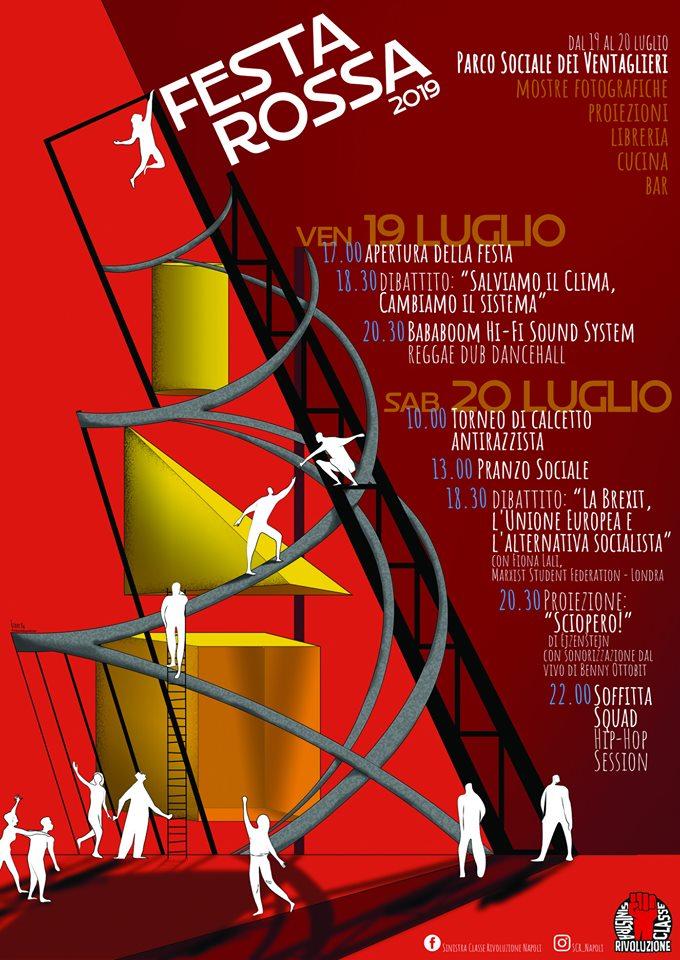 A Napoli torna la Festa Rossa al Parco Ventaglieri