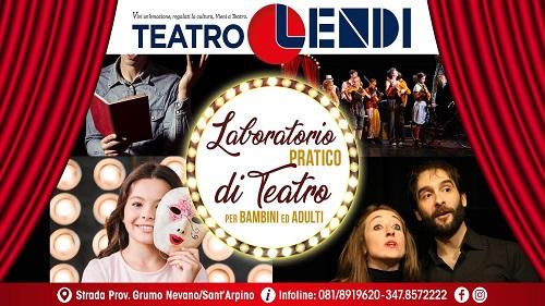 Teatro Lendi: al via ai nuovi corsi di recitazione aperti a tutti