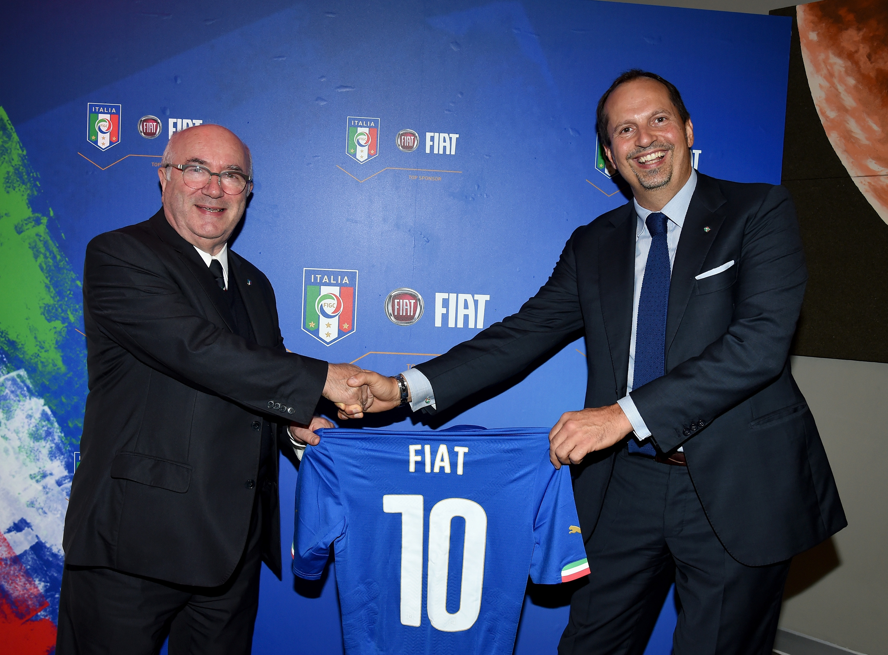 ROME, ITALY - OCTOBER 13: FIAT FIGC on October 13, 2015 in Rome, Italy. (Photo by Claudio Villa/Getty Images)
