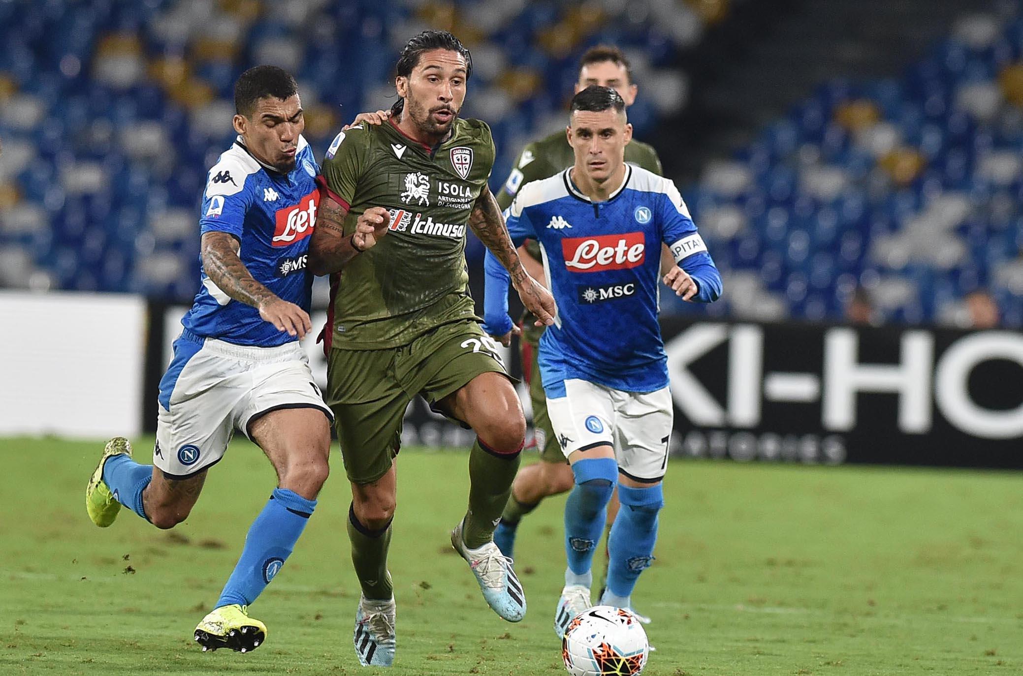 Napoli – Cagliari: modalità pausa