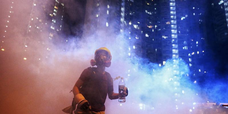 Ad Hong Kong continuano le proteste