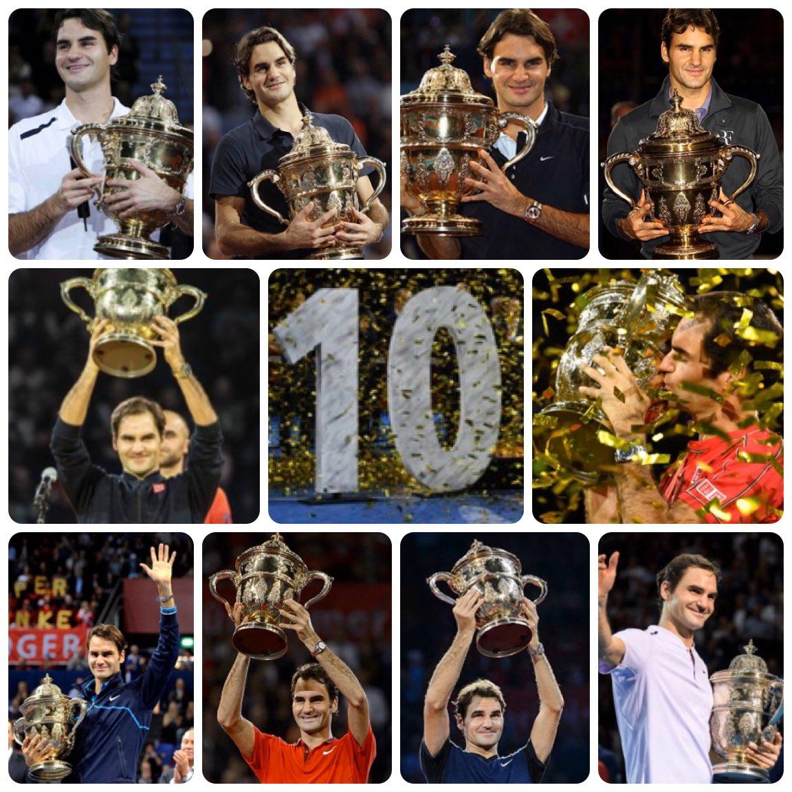 ATP Tour. Federer e Berrettini fanno 10