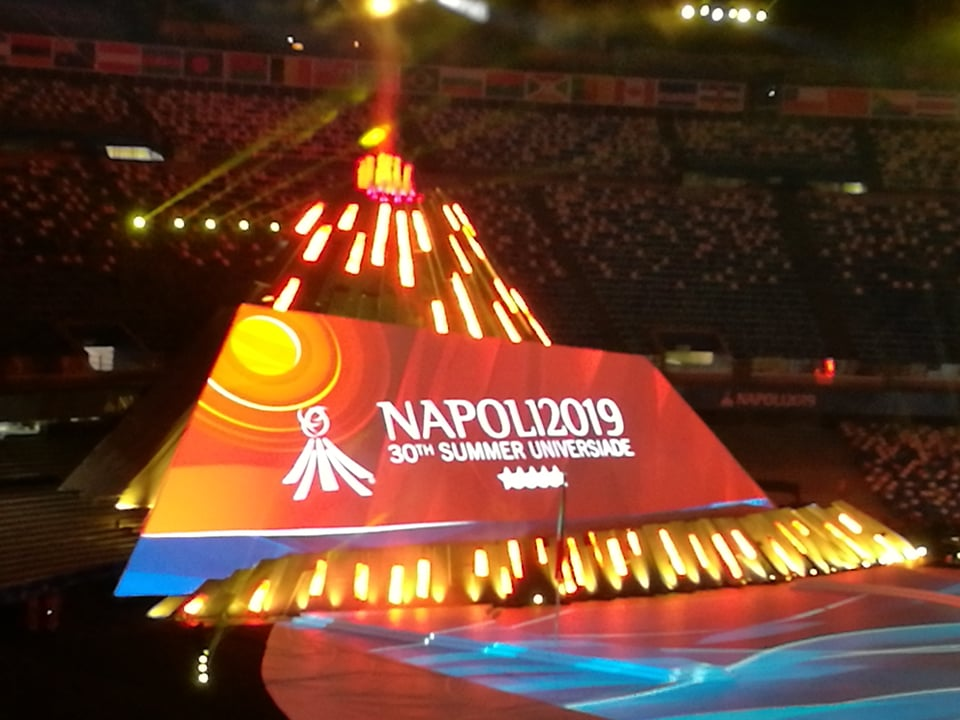 30th Summer Universiade – Napoli 2019
