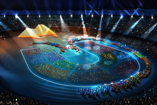 San paolo sold out per la cerimonia delle Universiadi