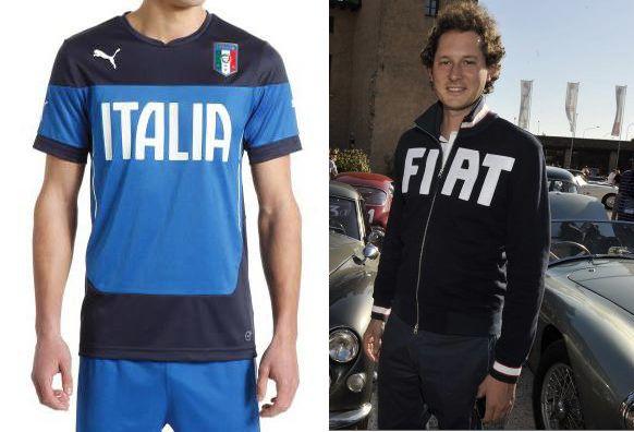 felpa fiat lettering italia