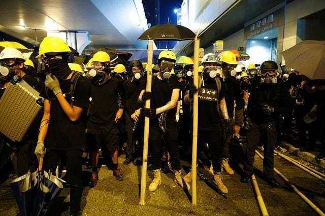 Sfida alla sovranità di Hong Kong
