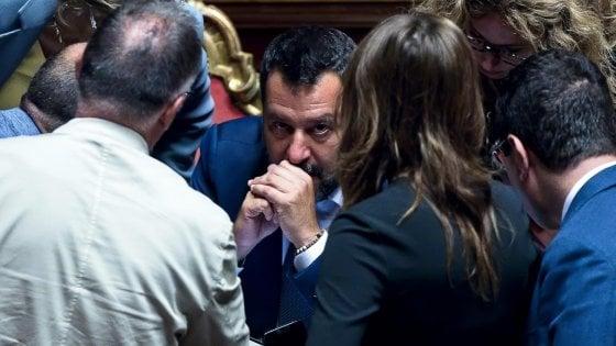 Salvini a Palazzo Chigi chiede la testa di tre ministri